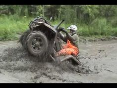 ▶ Grizzly 700, Can-am 800, Alder Flats, Alberta July-11-2009 outlawatvclub.com - YouTube