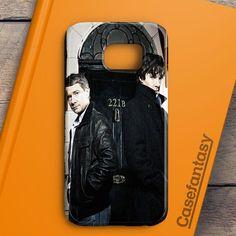 Sherlock And Dr Watson Samsung Galaxy S6 Edge Case | casefantasy