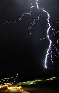 Albuquerque 2009, lightning storms!