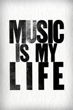Never realized how much I need music in my life until I had to go one day with out. #newperspective