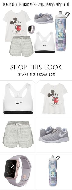 """dance practice outfit #1 "" by defaqestefani on Polyvore featuring NIKE, MANGO and Calvin Klein"