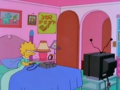 Find images and videos about grunge, cartoon and lisa on We Heart It - the app to get lost in what you love. Cartoon Memes, Cartoon Pics, Cartoons, Lisa Simpson, Grunge, 90s Aesthetic, My Spirit Animal, Wall Collage, Aesthetic Wallpapers
