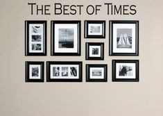 Best Of Times Wall Decals from www.beautifulwalldecals.com Add this phrase above or among some photos for a great accent! #family #familydecor #homedecor #dreamhome #walldecals #decals