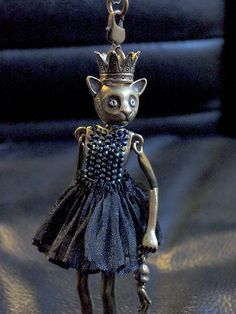 RARE Servane Gaxotte Cat Princess and doll necklace   eBay
