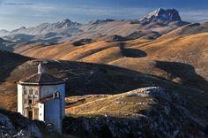 Chiesa Santa Maria della Pietà,  Rocca Calascio, Abruzzo, Italy