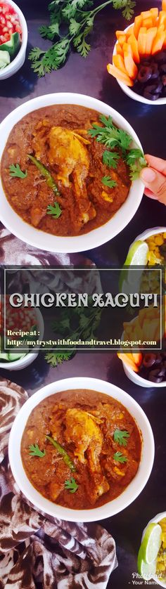 Chicken Xacuti (pronounced Shacuti) is a dish which was weaved into the culinary fabric of Goa by the Portuguese. This is a dish uses a whole lot of spices, but is mild on the tongue and a true powerhouse of flavour. Once you eat Chicken Xacuti you will be tempted to savour this dish again & again. By following my recipe in which I have very clearly & in steps explained, you can rustle up the same Chicken Xacuti in terms of taste as that of any which you will eat in a local restaurant in…