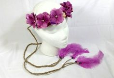 Hey, I found this really awesome Etsy listing at https://www.etsy.com/listing/240456875/hot-pink-faux-pearl-braided-twine
