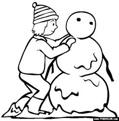 snowman coloring pages crayola pokemon - photo#11