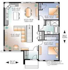1st level Affordable, two bedroom contemporary with curb appeal, unfinished basement - Camelia 2