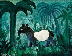 Hans Scherfig  : Tapir i junglen, 1961.