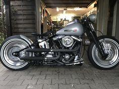 harley davidson softail for sale uk Moteurs Harley Davidson, Classic Harley Davidson, Harley Davidson Motorcycles, Custom Motorcycles, Custom Bikes, Hd Fatboy, Harley Fatboy, Harley Bobber, Harley Bikes