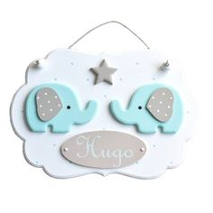 Name frame deco elephant wooden (without the Garland) for nursery Deco Elephant, Elephant Nursery, Baby Elephant, Baby Room Diy, Baby Room Decor, Nursery Decor, Garland Nursery, Baby Crafts, Diy And Crafts