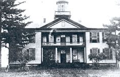 Hopedale Normal School / Teachers' College, Ohio.  GAC attended here to become a teacher, a school principal, and to get a jump start on his West Point classes.  Building now gone.