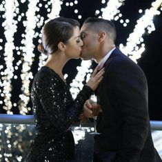 """Find video, photos and cast information for the Hallmark Channel original movie """"A Midnight Kiss"""" starring Carlos PenaVega and Adelaide Kane. Reign Cast, Adelaine Kane, Midnight Kisses, Mary Queen Of Scots, Hallmark Movies, Hallmark Channel, Original Movie, Christmas Movies, Tv Shows"""
