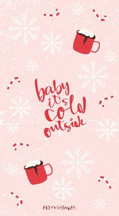 holiday wallpaper Free, Phone, Wallpaper, Freebie, Baby its Cold Outside Holiday Iphone Wallpaper, Christmas Phone Wallpaper, Holiday Wallpaper, Free Phone Wallpaper, Cute Wallpaper Backgrounds, Aesthetic Iphone Wallpaper, Cute Wallpapers, December Wallpaper, Winter Wallpapers
