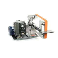 "KMG-PL Grinder with platen attachment/Work rest. 2 hp variable speed motor and VFD, Uses 2"" X 72"" Belts. $1,808.50"