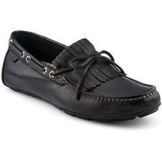 Sperry Top Sider Mens Wave Driver Kiltie Black Shoes   10282574