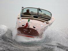 Carlo Riva l'Ingegnere del mare ... — coolerthanbefore: Cadillac powered Riva Tritone...