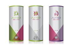 Amp Energy Drink Packaging - Kristofer Delaney | Design Director | Creative Director