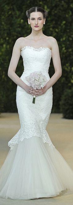 Carolina Herrera Bridal Dress Spring 2014 - Alexis
