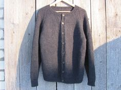 Vintage Handmade Knitwear Hand Knitted Men's by OLaLaVintage