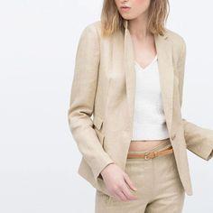 Cool Nice Nice Design Autumn Women Suit Cotton Linen Suit Women Blazer Cotton Blazer One Button Outwear Office OL Suit  BE719-19