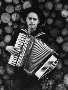 "Martin Gore (Depeche Mode) ... Gotta love a rocker with an accordion. Gore was also famous for using a melodica to haunting effect in DM's classic ""Everything Counts."" (A melodica is reed instrument with a piano-type keyboard on top, played by blowing air through a mouthpiece in its side. Sounds like an oboe, but higher, reedier and more nasal.)"