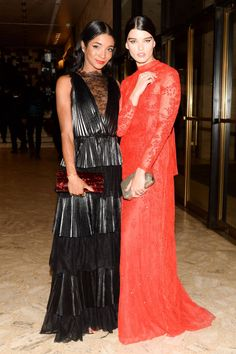 A Night at the Ballet: Genevieve Jones and Crystal Renn