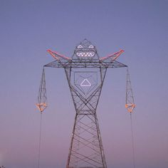 COLOSO, the giant robot-shaped electrical tower, by Buenos Aires-based art collective DOMA