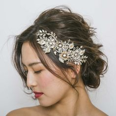 0723-のコピー Tiara Hairstyles, Wedding Hairstyles, Top Wedding Dress Designers, Up Styles, Hair Styles, Flower Crown Hairstyle, Wedding Wishes, Headpiece, Bridal Hair