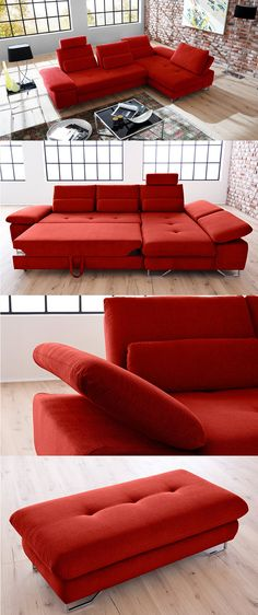Kingston von Candy Entdecke lässig moderne Sofas #MoebelLETZ - designer couch modelle komfort