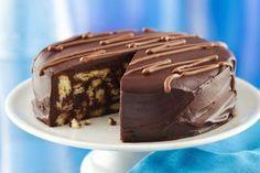 Шоколадный торт из печенья | Моя любимая выпечка