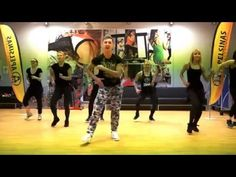 ZUMBA FITNESS MEGA MIX 52 - La Aspirina (Merengue) - YouTube