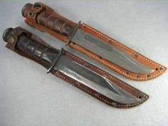 This were used in War Ka Bar Knives, Cool Knives, Knives And Swords, Navy Special Forces, Indoor Shooting Range, Edc, Combat Knives, Big Daddy, Guns And Ammo