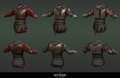 Witcher 2 armors 1 by Scratcherpen.deviantart.com on @DeviantArt