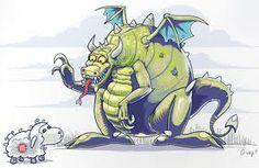 I love Wawel Dragon