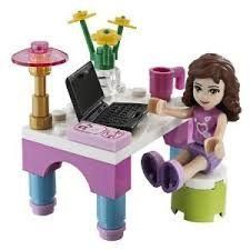 LEGO Friends Set #30102 Olivias Desk by ...