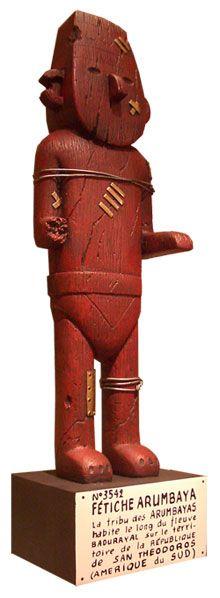 Arumbaya Fetish • riawati's brother owns a replica Arumbaya fetish from London's Tintin shop • Herge, Tintin et moi