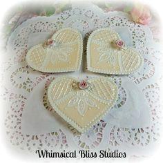 Mini Heart Plates #517111-5/6/7