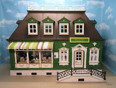 Here is my newest designed large Victorian shop, James and Sons is a gentleman's tailors fitted with battery powered lights.                ...