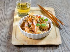 Steamed Shrimp with Lemongrass and Lime