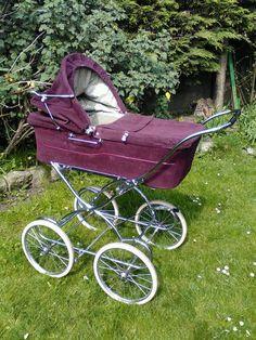 Vintage Stroller, Vintage Pram, Pram Stroller, Baby Strollers, Mother Memory, Prams And Pushchairs, Dolls Prams, Baby Prams, Baby Carriage
