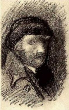 Self-Portrait by Vincent van Gogh...like