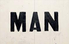 Man, THE MAN, Stylelist.ED, stylelistED, Eva Vaughan, typography, type, logo, font, graphic design, minimal, layout.