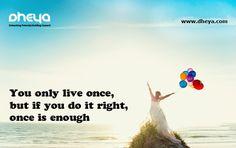 #YOLO #dheya #careerguidance #careermentoring