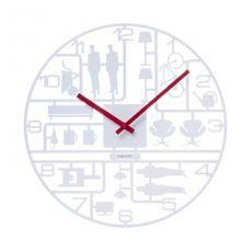 Karlsson Model Kit White 40cm Wall Clock