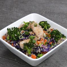 Chicken teriyaki coliflor rice