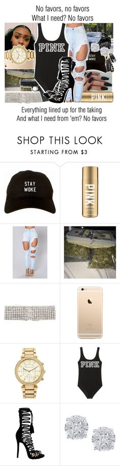 """""""No Favors x Big Sean ft. Eminem"""" by juicyums ❤ liked on Polyvore featuring ERTH, Caliber, MICHAEL Michael Kors, Victoria's Secret and Effy Jewelry"""
