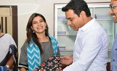 Samantha has agreed to be the brand ambassador for Telangana State Handloom Weavers Cooperative Society (TSCO). Samantha appreciated Minister KTRs initiative in supporting Handloom art.She ...