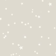 Create a charming setting with this Stars wallpaper from Cole & Son. Part of the Whimsical collection it features a beautiful array of scattered stars in a hand painted effect. This wallpaper is spong